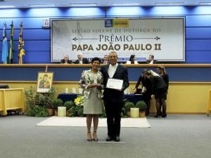 Ver. Cida Amaral e Pe. Pedro Pereira Borges
