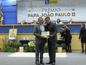 Ver. Lucas de Lima e Pe. João Vitor Ortiz