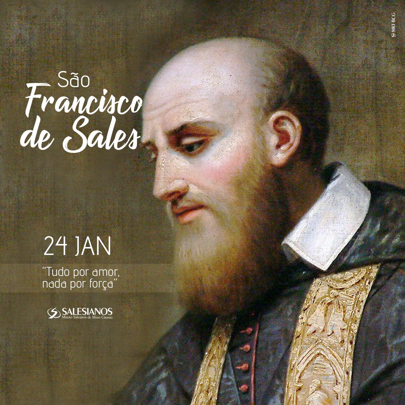 24 de Janeiro – Dia de São Francisco de Sales | Missão Salesiana de Mato Grosso